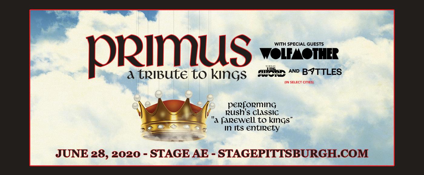 Primus at Stage AE