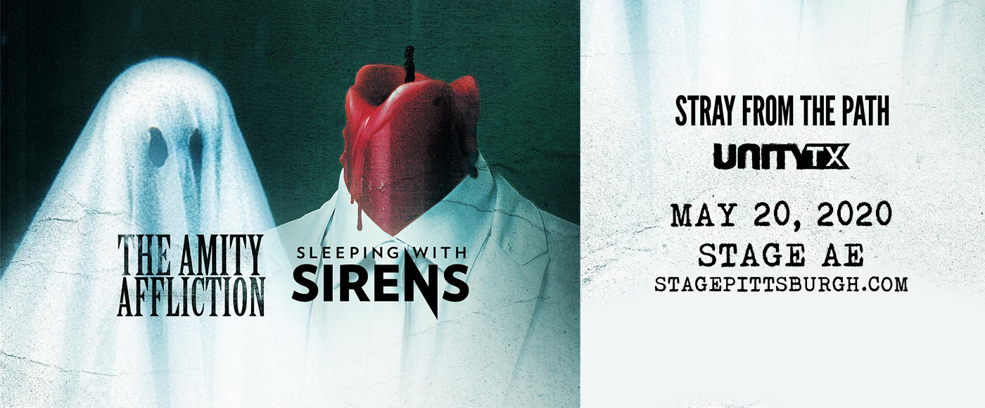Sleeping With Sirens & The Amity Affliction [POSTPONED] at Stage AE