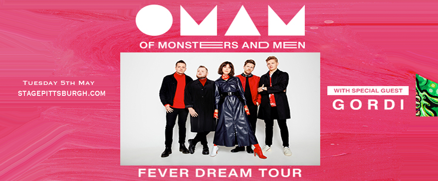 Of Monsters and Men [CANCELLED] at Stage AE