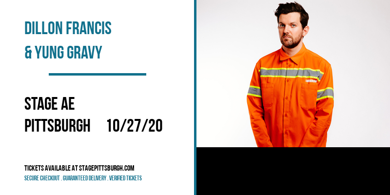 Dillon Francis & Yung Gravy [POSTPONED] at Stage AE