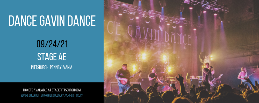 Dance Gavin Dance at Stage AE