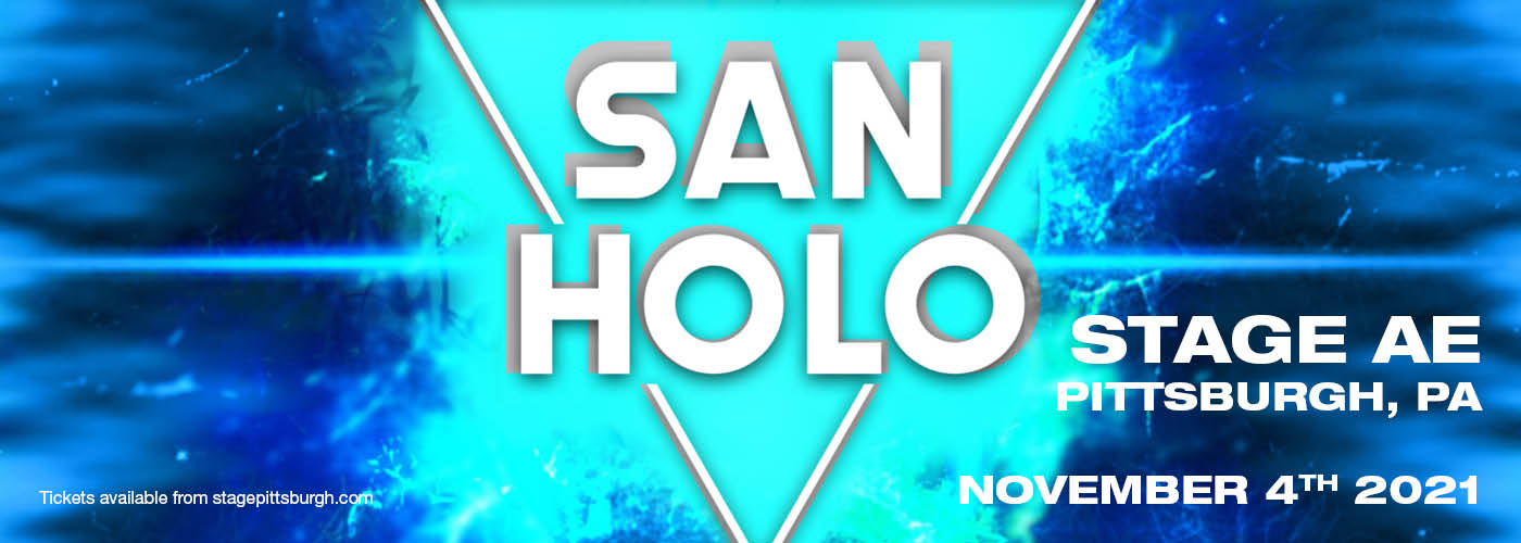 San Holo at Stage AE
