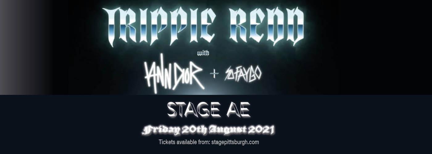 Trippie Redd at Stage AE