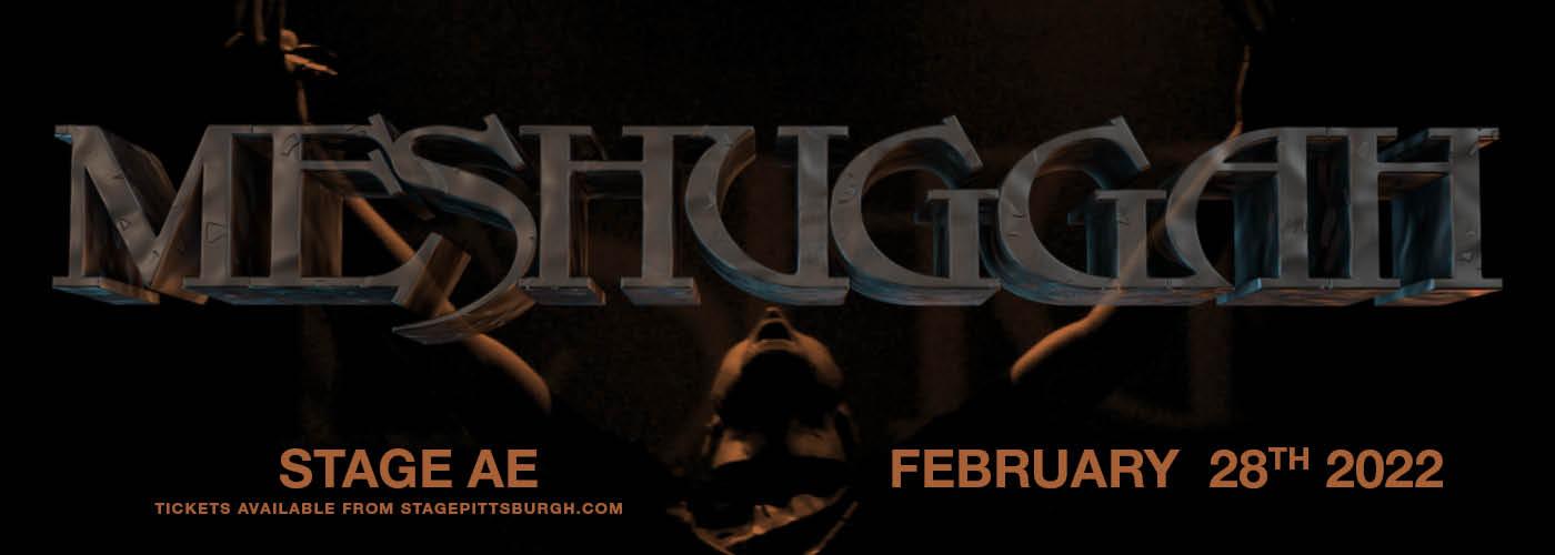 Meshuggah at Stage AE