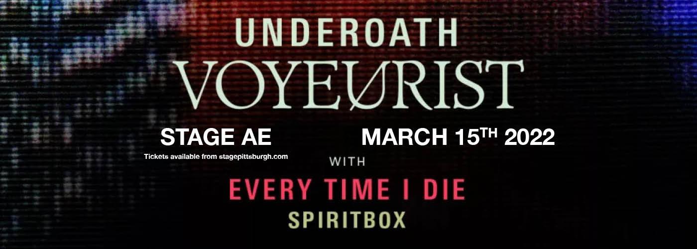 Underoath: Voyeurist at Stage AE