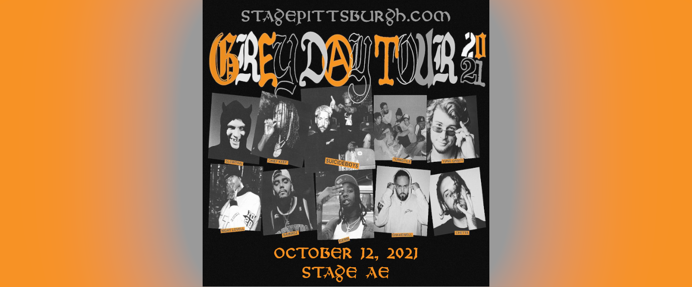Suicideboys, Chief Keef, Turnstile, Night Lovell & Germ at Stage AE