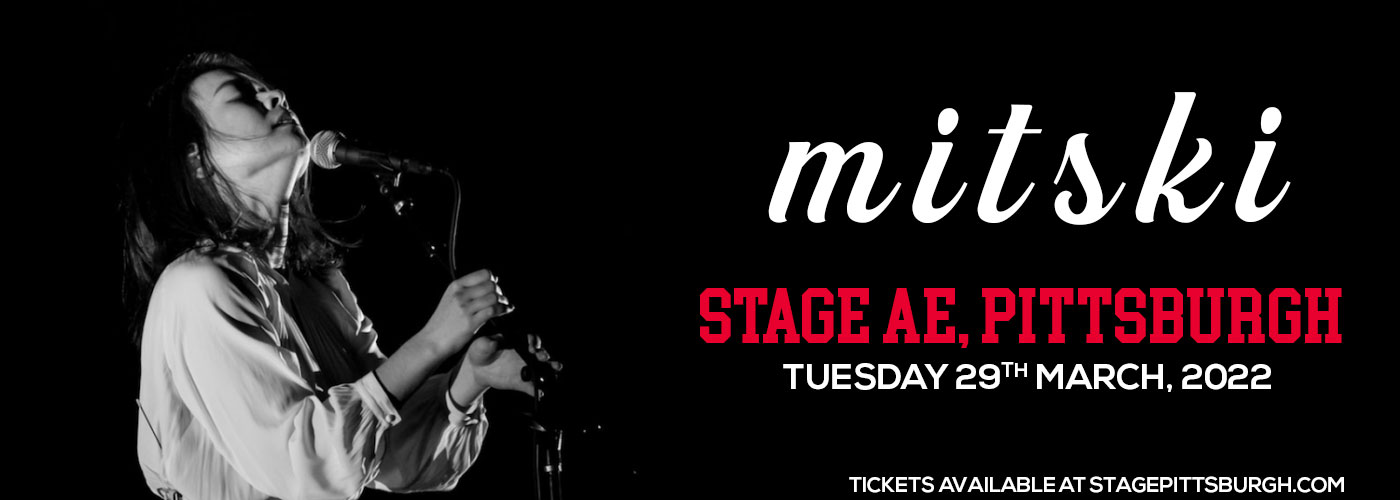 Mitski comes to Stage AE on Tuesday 29th March 2022 at Stage AE