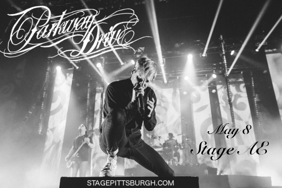 Parkway Drive at Stage AE