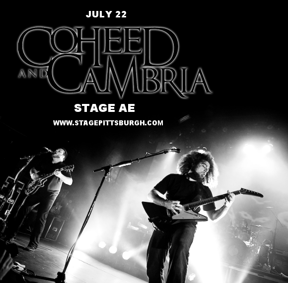 Coheed and Cambria & Taking Back Sunday at Stage AE