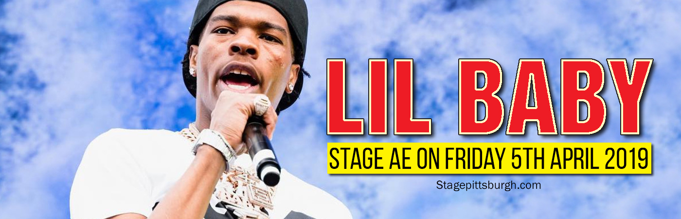 Lil Baby at Stage AE