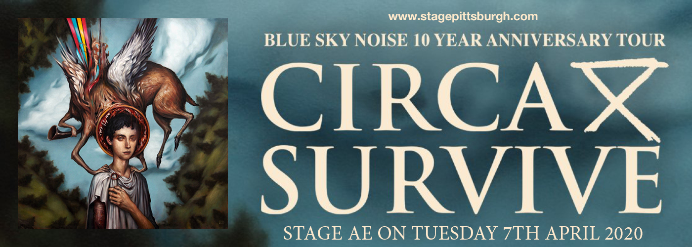 Circa Survive at Stage AE