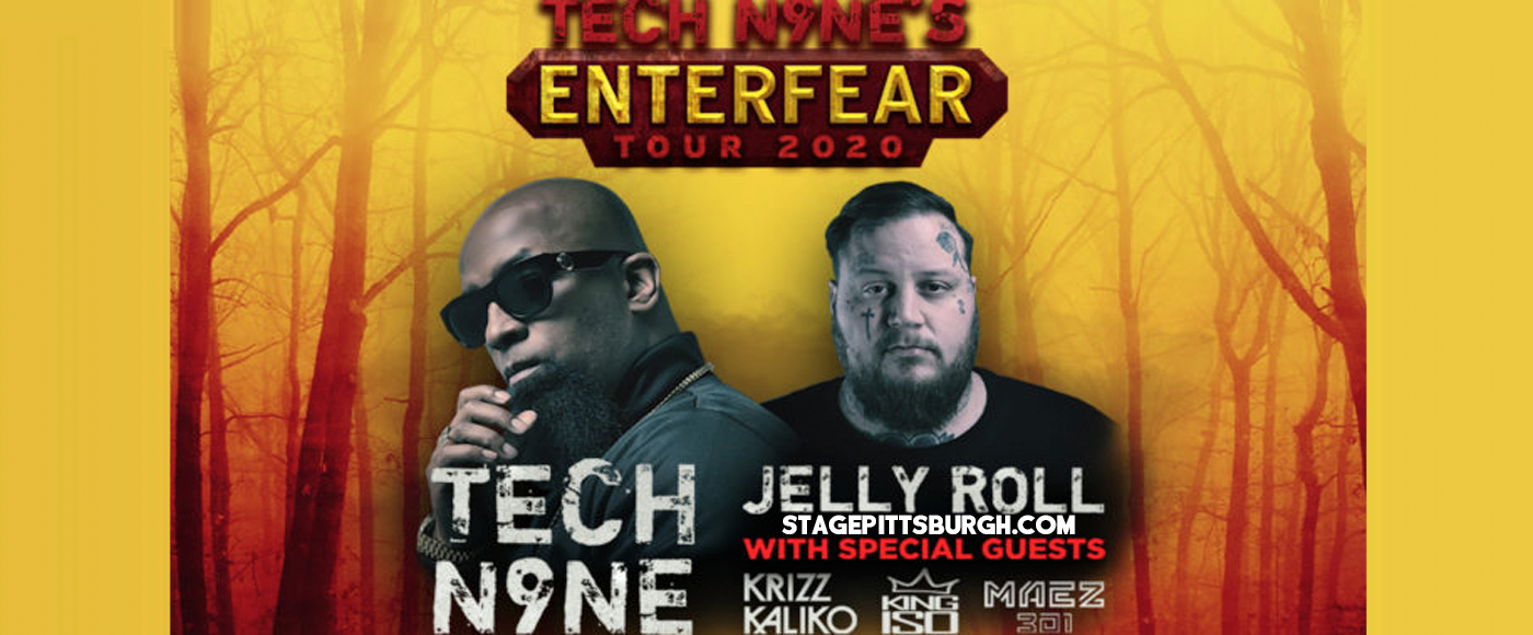 Tech N9ne, Krizz Kaliko, Jelly Roll & King Iso at Stage AE