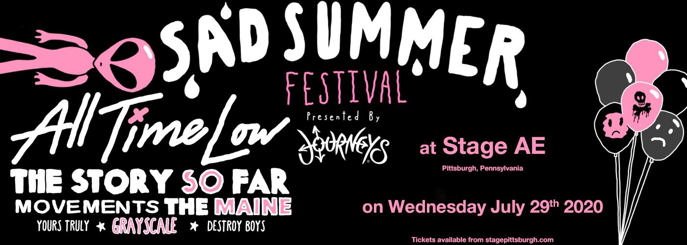 Sad Summer Festival at Stage AE