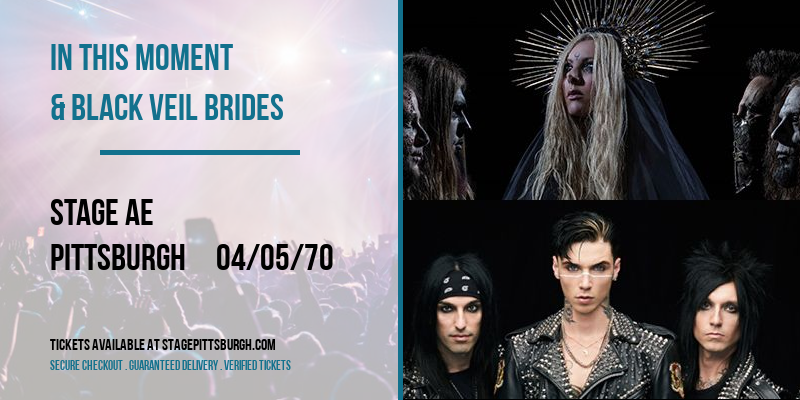 In This Moment & Black Veil Brides [POSTPONED] at Stage AE