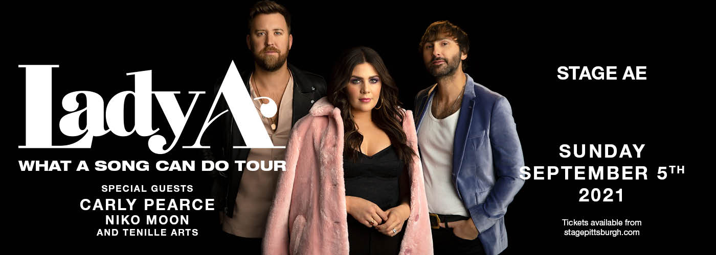 Lady A: What A Song Can Do Tour at Stage AE