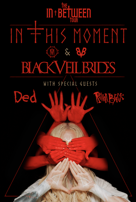 In This Moment & Black Veil Brides at Stage AE