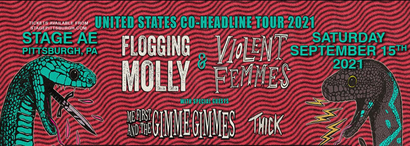 Flogging Molly & Violent Femmes at Stage AE
