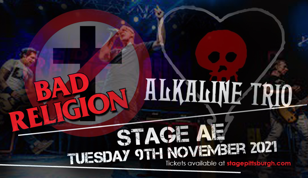 Bad Religion & Alkaline Trio at Stage AE