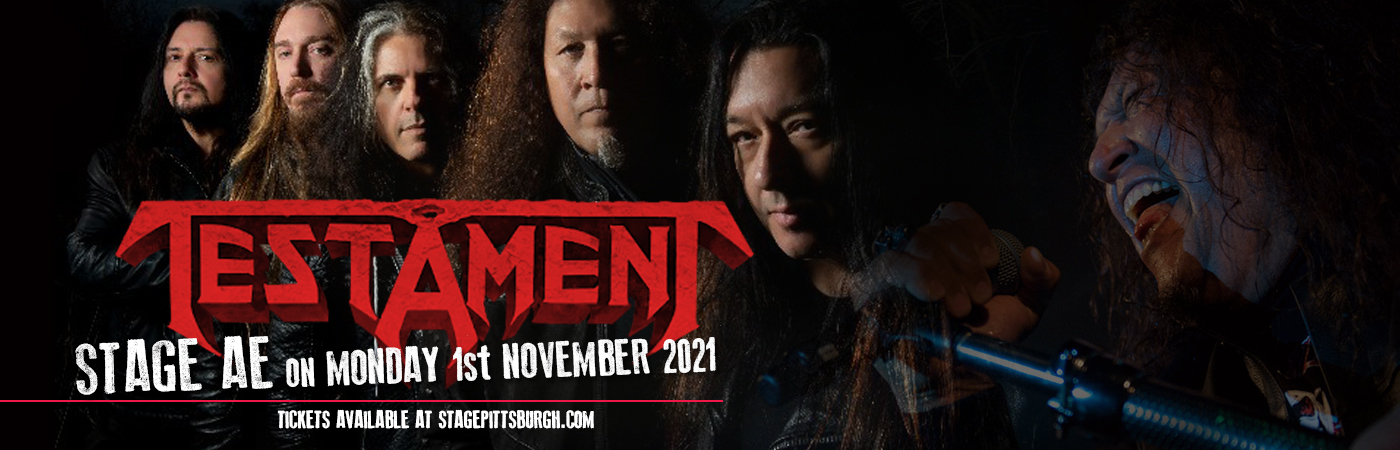Testament at Stage AE
